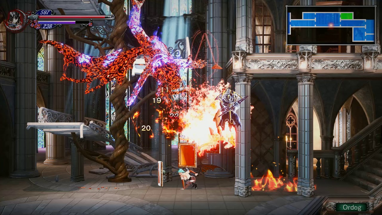 Bloodstained Ritual of the Night Morrigan Aensland Mod By Thor777