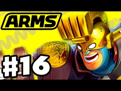 ARMS - Gameplay Walkthrough Part 16 - Max Brass Party Matche