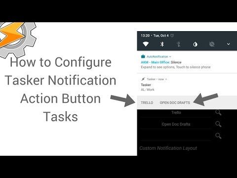 Tasker Notification Action Button Tasks - RoryCodes
