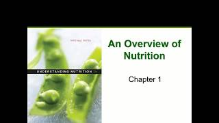 Nutrition Overview (Chapter 1)