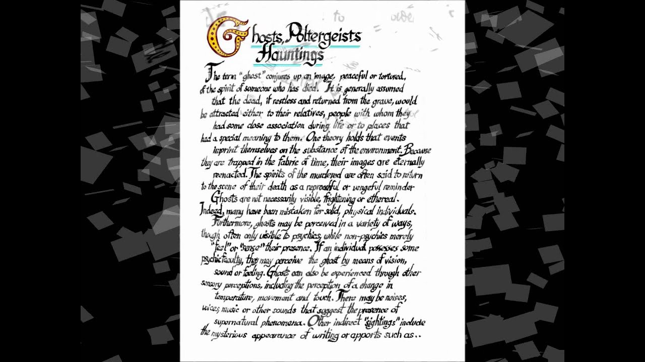 free charmed book of shadows replica pages youtube