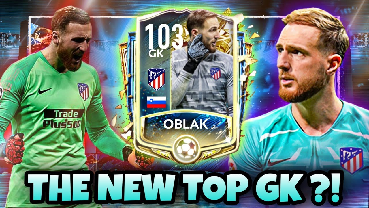 UTOTS OBLAK - MAXIMUM STATS - BEST GK IN FIFA MOBILE?