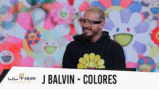 Entrevista J Balvin: Colores, album cover diseñado por Takashi Murakami y mas