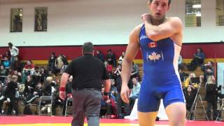 2016 Guelph Open FS57kg Aso Palani (BMWC) vs Brian Cowan (Brock) incomplete due to delay