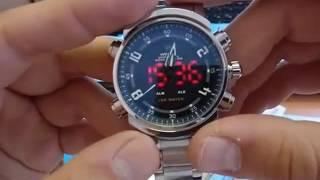 Годинник Weide WH-1101 Огляд та налаштування