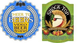 Shock Top Honeycrisp Apple Wheat Beer Review | Cheer to Beers