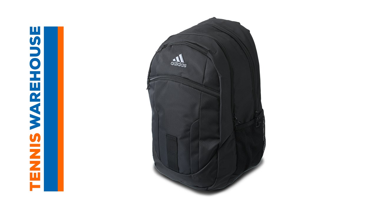 2546e32e63 adidas Foundation Backpack Bag - YouTube