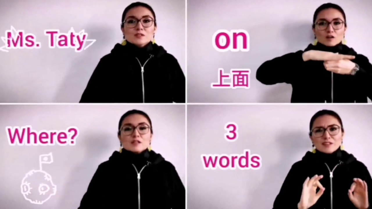 Where is the bird? A video about prepositions of place