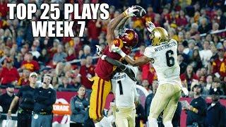 College Football Top 25 Plays 2018-19    Week 7 ᴴᴰ
