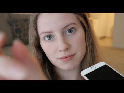 ASMR - Lo Fi Guided Visualization Meditation 💙 (soft-spoken, iphone)