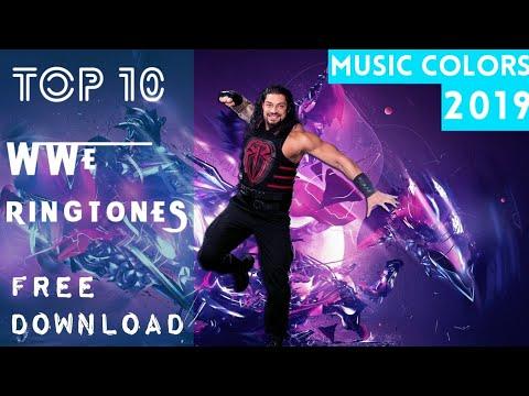 🔥Top 10 Best WWE Ringtones 2019 | WWE Ringtones 2019 | MUSIC COLORS