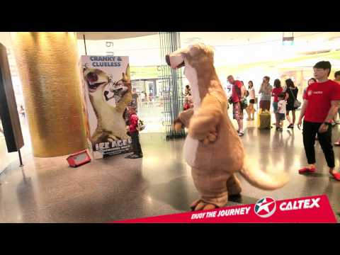 The Sid Shuffle at GV VivoCity  Ice Age: Continental Drift