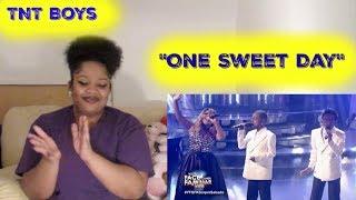 "TNT Boys- ""One Sweet Day"" Reaction( Mariah Carey and Boyz ll Men)"