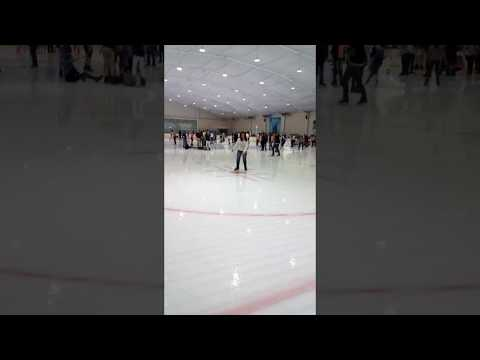 Ice skating @ SM Mall of Asia