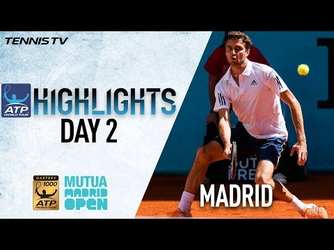 Highlights: Simon, Dimitrov, Kyrgios, Tsonga Win Openers In Madrid 2017