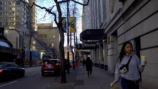 Downtown Vancouver Canada - Walking in City Centre - West Hastings Street