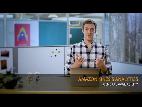 Amazon Kinesis Analytics - General Availability