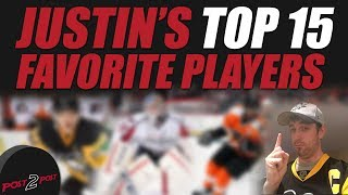 Justin's Top 15 Favorite Players