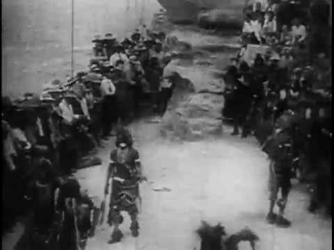 Hopi Indians Dance For Theodore Roosevelt At [Walpi, Ariz.] 1913