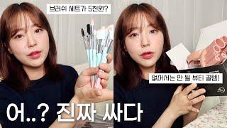 가성비☔️내려오는 브러쉬와 뷰티꿀템 소개 (ft.집꾸미…