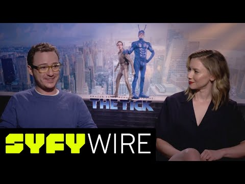 The Tick's Valorie Curry and Griffin Newman on Secret Identities and Costumes  SYFY WIRE