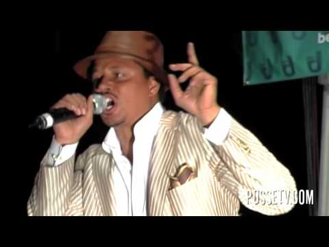 """Terrance Howard aka Lucious Lyon performs """"PLENTY"""" Live In Park In NYC"""