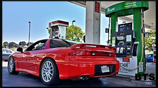 jorge s 1993 mitsubishi 3000gt vr 4 2015 tuning coverage part 1 w emu 9b s and pump e85