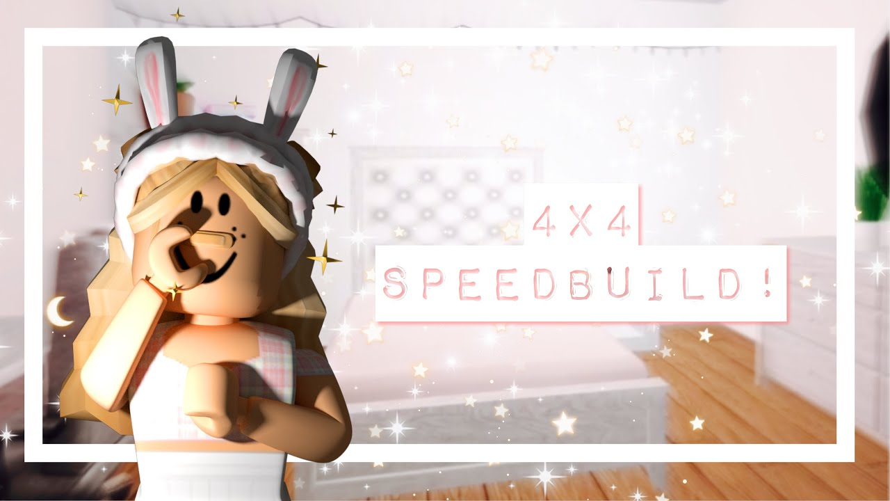 i4X4i AESTHETIC iBEDROOMi SPEED BUILD Roblox bloxburg YouTube