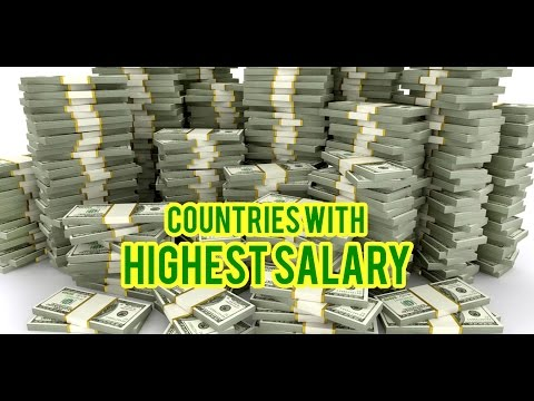 Top 10 Highest Paying Countries (Average Salary + Taxes)