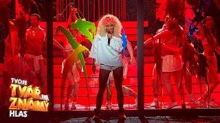 Markéta Konvičková jako Rihanna -