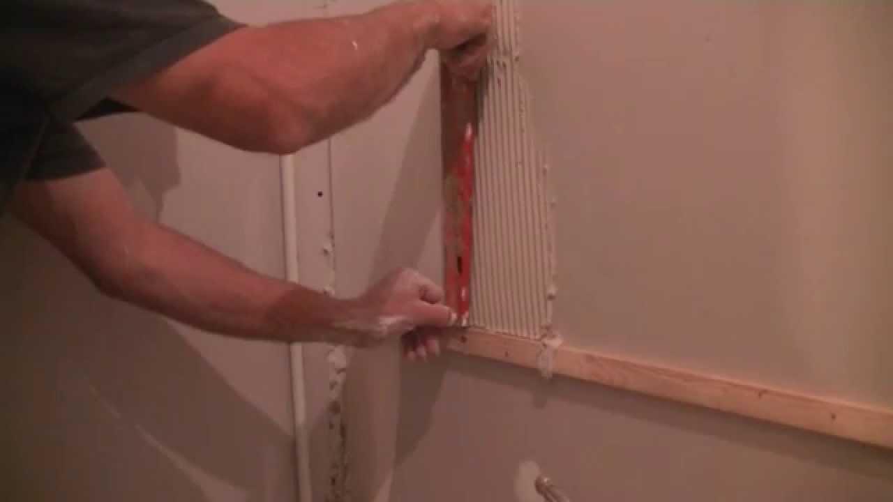 comment poser de la faience ou du carrelage mural