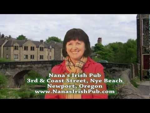 Nana's Irish Pub- Coast Street, Newport, Oregon