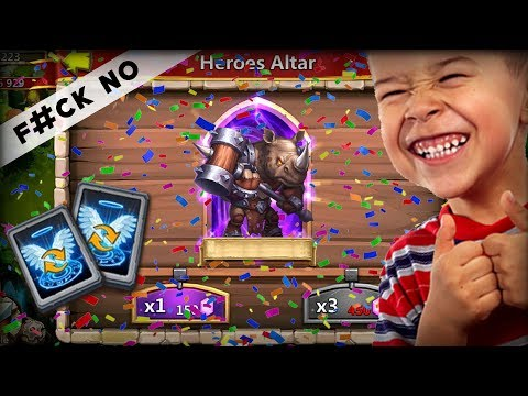 Castle Clash : Rolling 5k Gems For Rockno And Opening 30 Talent Refresh Card