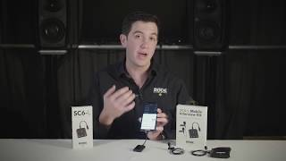 Features and Specifications of the RØDE SC6-L