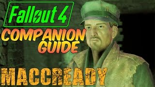 MACCREADY and the Killshot Perk - Fallout 4 COMPANION GUIDE