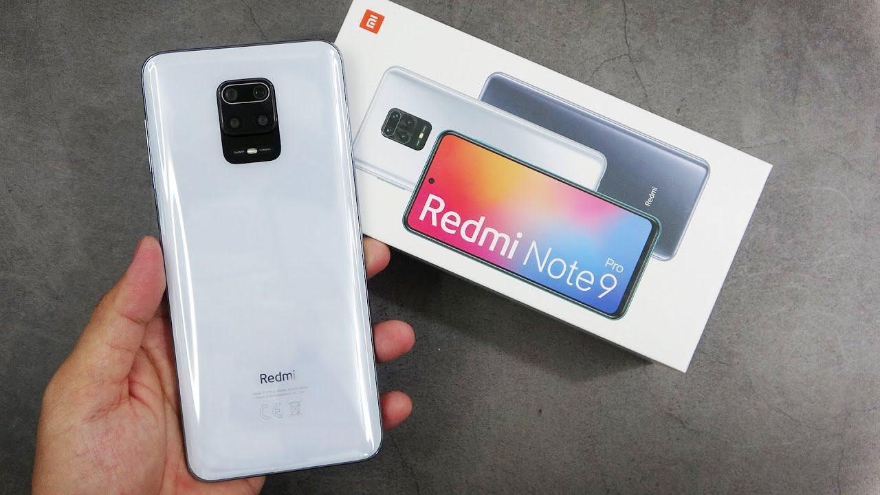 Xiaomi Redmi Note 9 Pro Glacier White Unboxing Camera Test Youtube