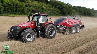 The All New Case LB436 HD Baler &  Case Magnum 340 AFS Tractor