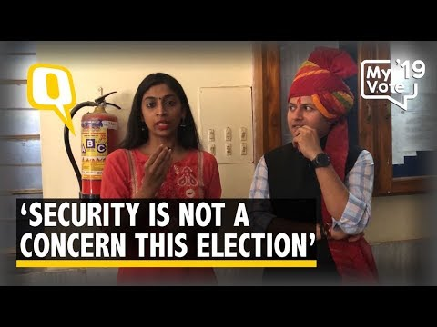 'Security Not an Issue This Election': Raj CM Ashok Gehlot's Son | The Quint