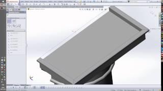 Создание 3D модели по чертежу (Столб)