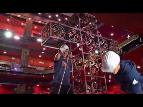 TEATRO BRANCACCIO - Backstage IL CIRCO DEGLI ORRORI