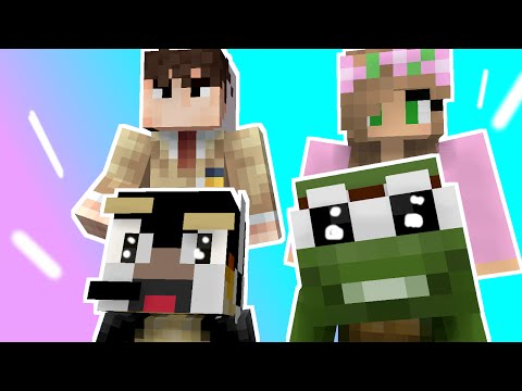Minecraft - WHO'S YOUR DADDY? TheAtlanticCraft, Tiny Turtle, Samgladiator, Animation, Little Kelly