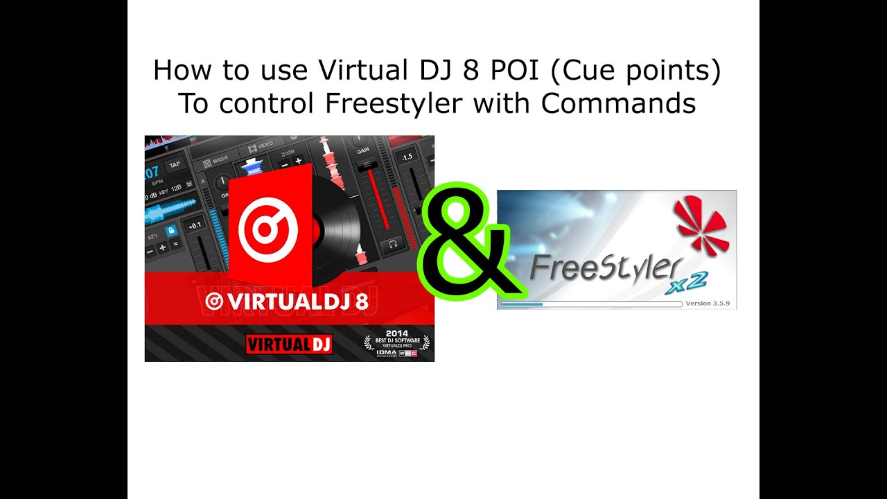 How to use Virtual DJ 8 to Control Freestyler with commands