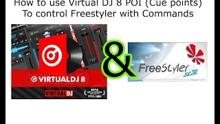 How to use Virtual DJ 8 to Control Freestyler with commands Mp3