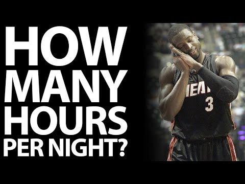 How Much Sleep Do Athletes Need Each Night?