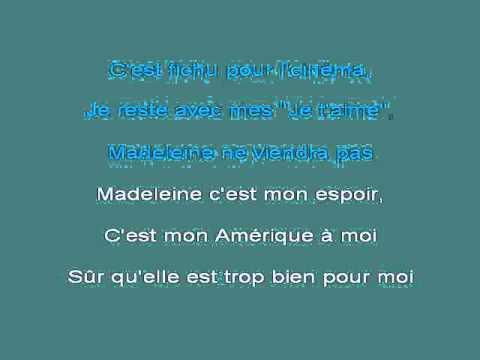 Madeleine [karaoke]