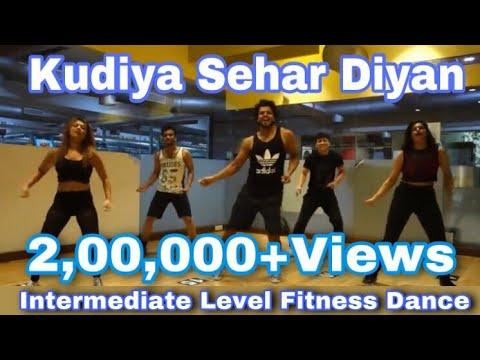 Kudiya Shehar Diyan Song   Poster Boys   Daler Mehndi, Neha kakkar  Zumba Routine   Dil Groove Mare