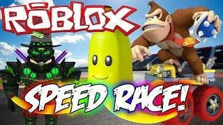 """Its like Mario Kart!"" (ROBLOX Sprint Racing Game)"