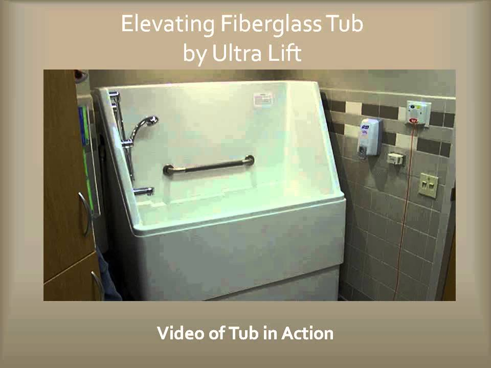Lift Tubs/Wash Units by Ultra Lift, Inc. - YouTube