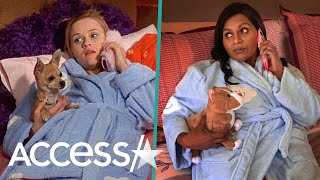 Mindy Kaling Hilariously Channels Pal Reese Witherspoon's 'Legally Blonde' Character Elle Woods