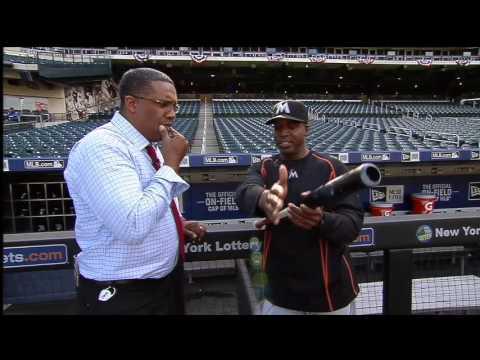 Barry Bonds explains fundamentals of hitting